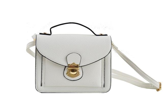 modní kabelka bílý