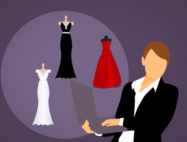 On-line nakupování šatů