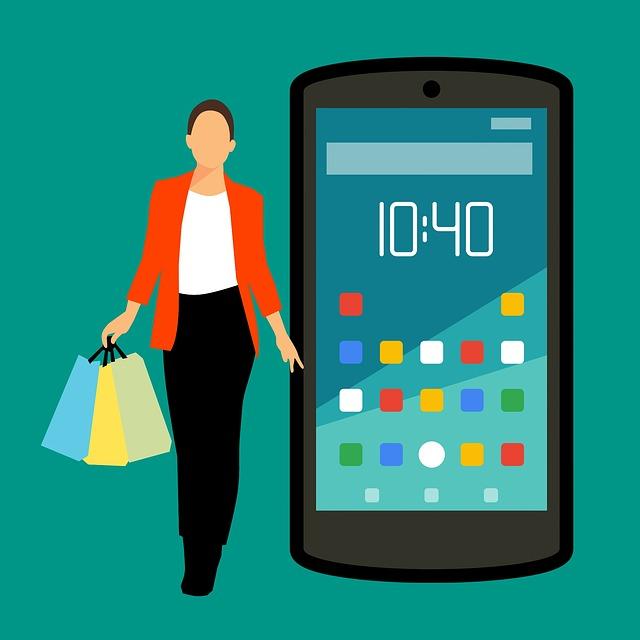 Nakupování s mobilem