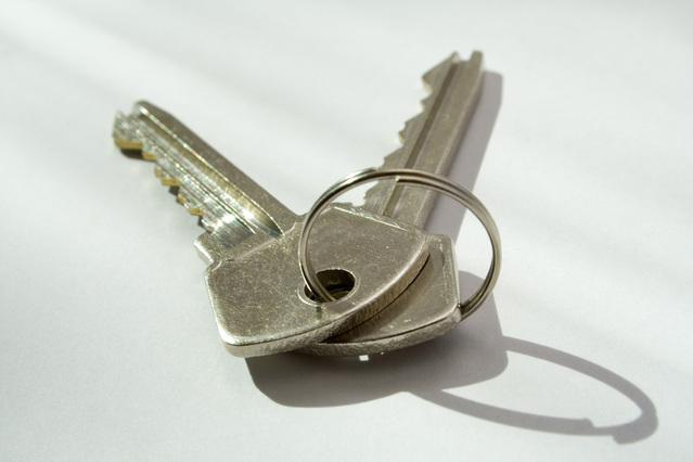 klíčky od koupené nemovitosti za úvěr