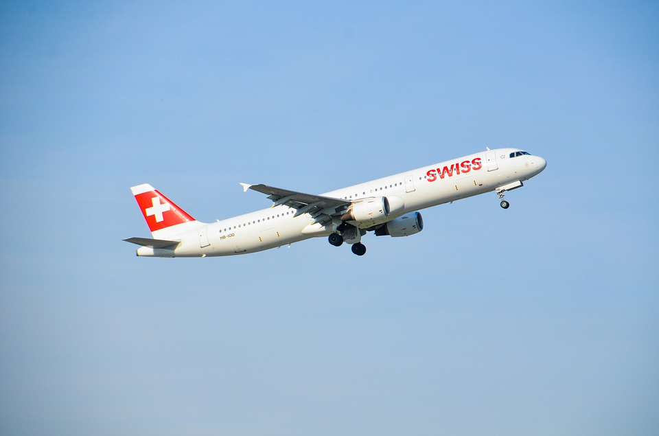 letadlo Swiss